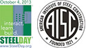 SteelDay and AISC logos